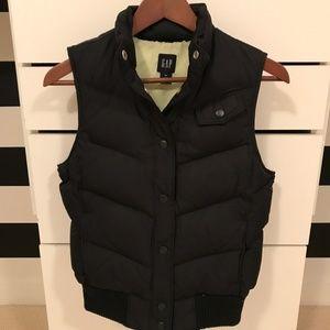 GAP black down vest